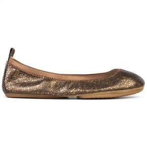 Yosi Samra YS Ballet Flats Shoes Bronze Sz 8
